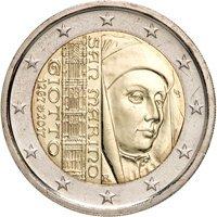 Фото монеты евро Сан-Марино
