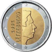 Фото монета 2 евро Люксембурга