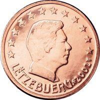 Фото монета 5 евроцентов Люксембурга